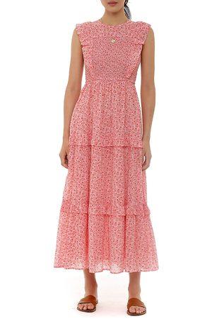 Banjanan Ruffled Midi Dress