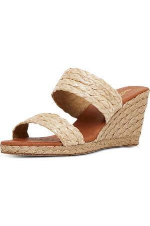 Andre Assous Women Wedges - Women's Nolita Slip On Espadrille Wedge Sandals