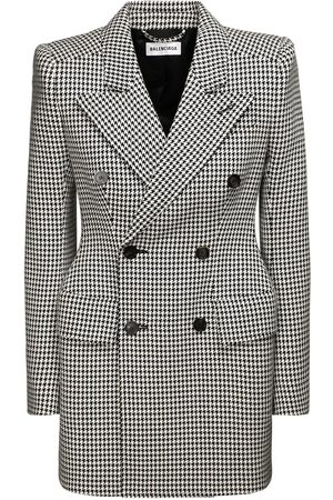 Balenciaga Wool Blend Double Breast Jacket