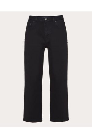 VALENTINO Men Pants - Rockstud Untitled Denim Pants Man Cotton 100% 30