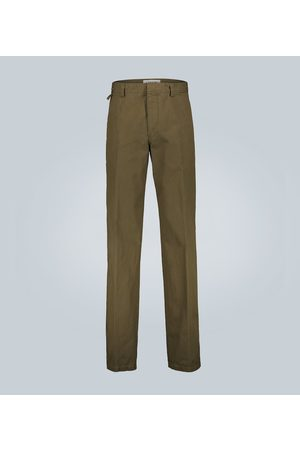 Lanvin Straight-leg cotton chinos