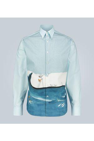 Lanvin Babar printed cotton shirt