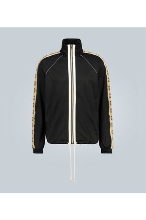 Gucci Oversized technical jersey jacket