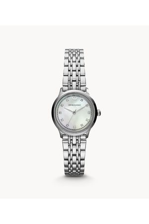 Armani Emporio Women's Three-Hand Stainless Steel Watch