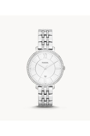 Fossil Jacqueline Stainless Steel Watch Es3545 - ES3545-WSI