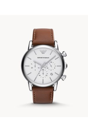 Armani Emporio Men's Chronograph Leather Watch