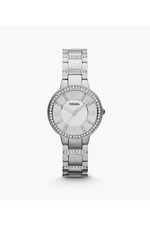 Fossil Virginia Stainless Steel Watch Es3282 - ES3282-WSI