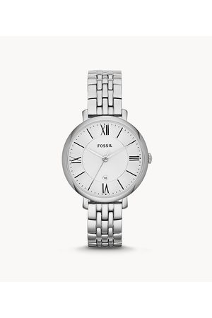 Fossil Jacqueline Stainless Steel Watch Es3433 - ES3433-WSI