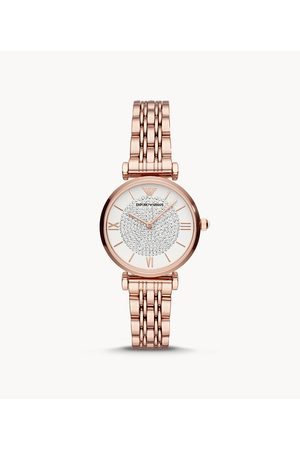 Armani Emporio Emporio Women'S Two-Hand Rose Gold-Tone Stainless Steel Watch Ar11244 Jewelry - AR11244-WSI