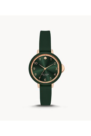 Kate Spade New York New York Park Row Three-Hand Matte Silicone Watch Ksw1543 Jewelry - KSW1543-WSI