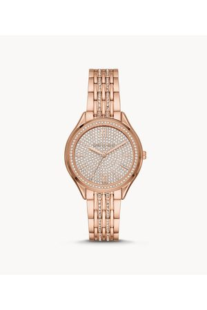 Michael Kors Exclusive - Mindy Three-Hand Rose Gold-Tone Stainless Steel Watch Mk7085 Jewelry - MK7085-WSI