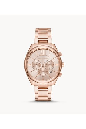 Michael Kors Janelle Chronograph Gold-Tone Stainless Steel Watch Mk7108 Jewelry - MK7108-WSI