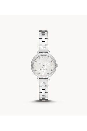 Kate Spade New York New York Morningside Scallop Three-Hand Stainless Steel Watch Ksw1554 Jewelry - KSW1554-WSI