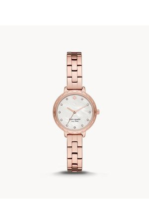 Kate Spade New York New York Morningside Scallop Three-Hand Rose Gold-Tone Stainless Steel Watch Ksw1555 Jewelry - KSW1555-WSI