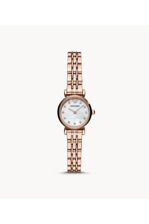 Armani Emporio Women'S Two-Hand Rose Gold-Tone Stainless Steel Watch Ar11203 Jewelry - AR11203-WSI