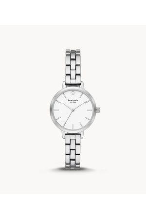 Kate Spade New York Metro Three-Hand Metal Watch Ksw9001 Jewelry - KSW9001-WSI