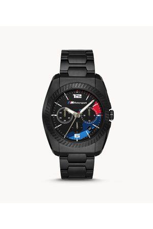 BMW M Motorsport Chronograph Stainless Steel Watch 3002 Jewelry - 3002-WSI