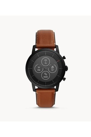 Fossil Hybrid Smartwatch Hr Collider Tan Leather Ftw7007 jewelry - FTW7007-WSI