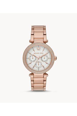 Michael Kors Women's Parker Multifunction -Tone Stainless Steel Watch