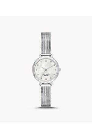 Kate Spade New York New York Morningside Three-Hand Stainless Steel Mesh Watch Ksw1573 Jewelry - KSW1573-WSI