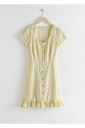 & OTHER STORIES Button Up Mini Dress