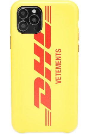 Vetements Men Phones Cases - DHL Logo iPhone 11 Pro Case