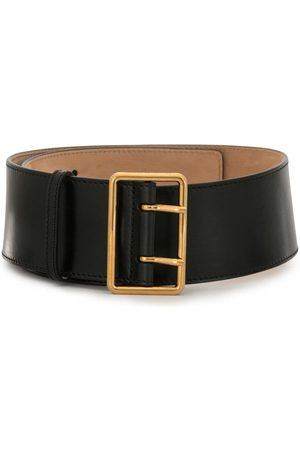 Alexander McQueen Double-buckle wide belt