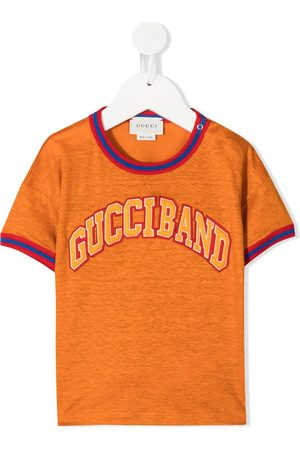 Gucci T-shirts - Gucciband motif T-shirt
