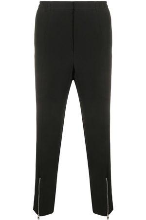 Alexander McQueen Zip-detail straight-leg trousers