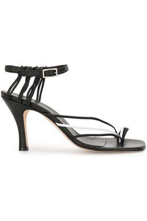 CHRISTOPHER ESBER Square toe strappy sandals