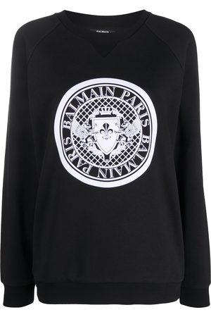 Balmain Medallion logo sweatshirt