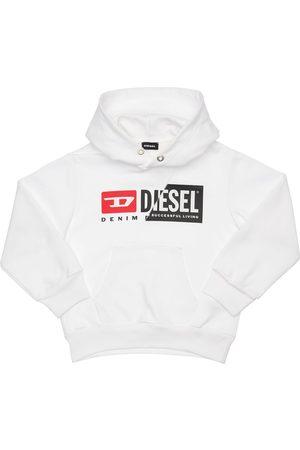 Diesel Logo Print Cotton Sweatshirt Hoodie