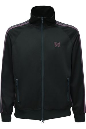 Pins & Needles Logo Embroidered Tech Track Jacket