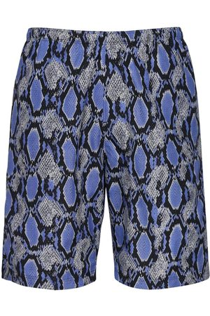 Pins & Needles Python Print Nylon Swim Shorts