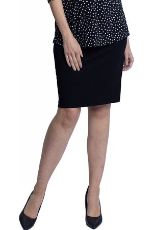 Angel Maternity Women's Ponte Maternity Pencil Skirt