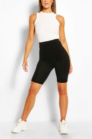Boohoo Womens Basic Solid Cycling Shorts - - 2