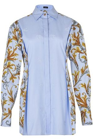 VERSACE Printed sleeves shirt