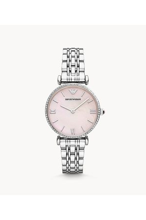 Brands Emporio Armani Women's Two-Hand Stainless Steel Watch