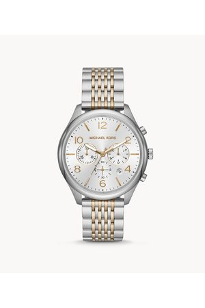 Michael Kors Men's Merrick Chronograph Two-Tone Stainless Steel Watch