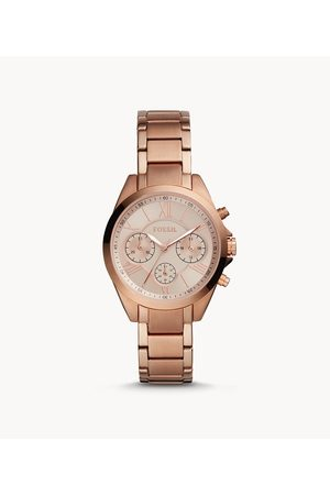 Fossil Women's Modern Courier Midsize Chronograph -Tone Stainless Steel Watch
