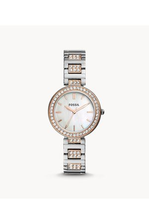 Fossil Women's Karli Three-Hand Two-Tone Stainless Steel Watch - /Rose