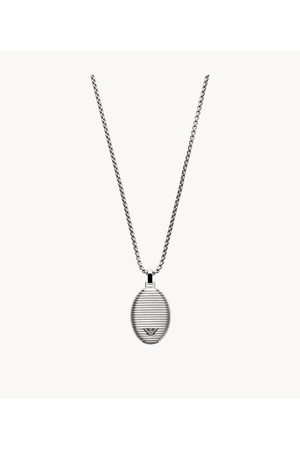 Armani Emporio Men's Emporio Men's Stainless Steel Pendent Necklace