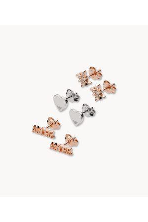 Armani Emporio Women's Trio Stud Earring Gift Set