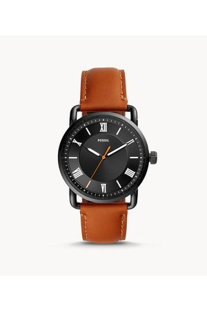 Fossil Men's Copeland 42mm Three-Hand Luggage Leather Watch