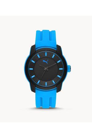 Puma Men's Analog Three-Hand Silicone Watch