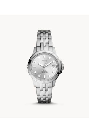 Fossil Women's FB-01 Three-Hand Date Stainless Steel Watch