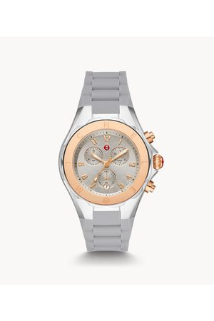 Michèle Women's Jellybean Two-Tone 18k Pink Gold Watch