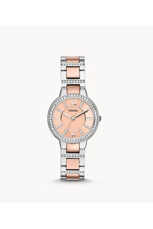 Fossil Women's Virginia Two-Tone Stainless Steel Watch