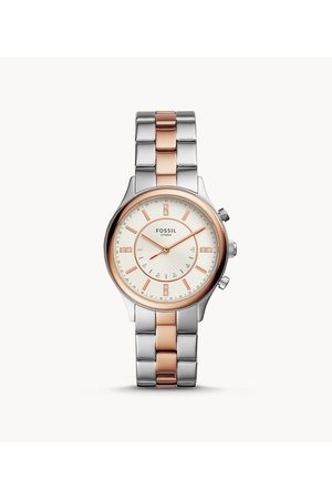 Fossil Women's Hybrid Smartwatch Modern Sophisticate Two-Tone Stainless Steel