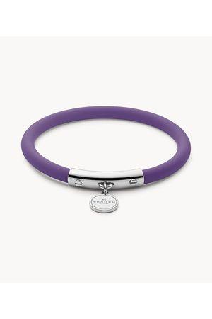 Skagen Women's Blakely Purple Silicone and -Tone Bracelet